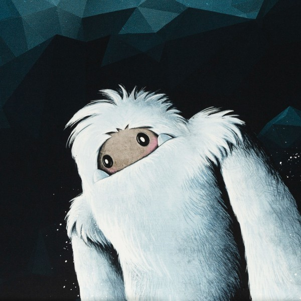 French Terry Panel Yeti Rocks by Thorsten Berger