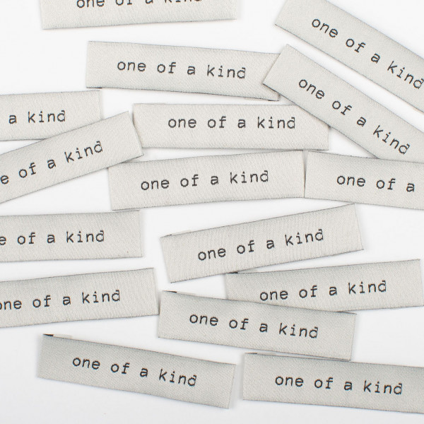 """Label Set """"one of a kind"""""""