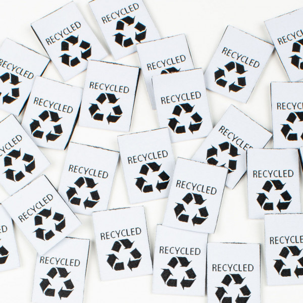 """Label Set """"RECYCLED"""""""